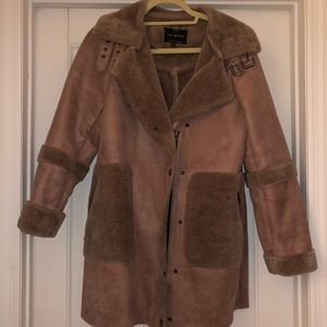 Lucky Brand Faux Shearling